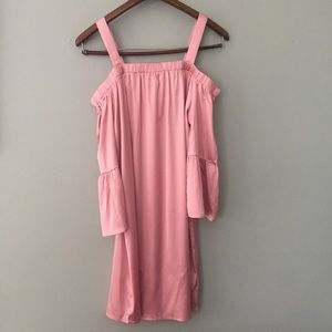 Cute Americal clothing inc pink slip dress M and L